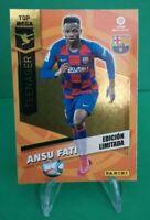 ANSU FATI 2020/2021 RC ROOKIE Panini Megacracks Barcelona Limited Edition Card