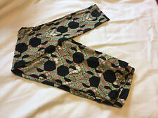 LuLaRoe ~ Green Disney Minnie Leggings ~ Size Tall & Curvy ~ New without tags