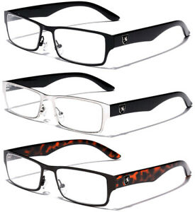 Fashion Sport Designer Square Clear Lens Non Prescription Women Men Eye Glasses