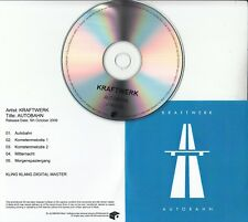 KRAFTWERK Autobahn 2009 UK Mute remastered 5-track promo test CD