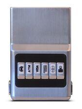 All Silver ProTek™ Plus ACM Wallet Unisex - Credit Card Organizer Money Clip