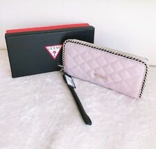 BNWT RRP$79 GUESS LUCIE Zip-around Wallet Clutch Purse Wristlet Nude Multi