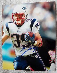 New England Patriots Danny Woodhead Signed 8x10  Photo Auto