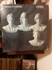 Utopia original lp Deface The Music.Bearsville 1980.First Pressing Brk 3487.