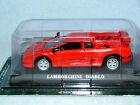 LAMBORGHINI DIABLO RED Die-cast Car Del Prado MIB 1/43