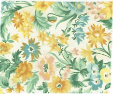 Hardy Floral Curtain Upholstery 100% Cotton Quality Designer Fabric/ Width 140cm