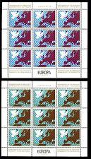 Yugoslavia 1977 Security Co-Op Conf. Maps MNH Sheets Set Cat £20 #C8030