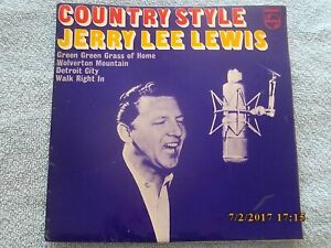 JERRY LEE LEWIS=COUNTRY STYLE=EP=PHILIPS BE12599