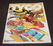 Vintage 1926-1976 50th Anniversary Year TYCO CATLOG Model Trains & Cars