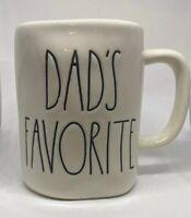 Rae Dunn Dad's Favorite Mug Cup By Magenta Long Letter Farmhouse Coffee Tea