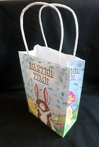 Easter Bunny Paper Party Bags Suitable Boys or Girls Birthday Gift Loot gift Bag