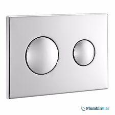 Ideal Standard S4399AA Conceala 2 CP Dual Flush Air Pneumatic Flush Plate Chrome