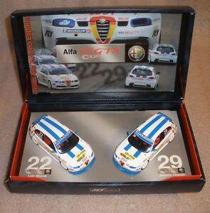 Team Alfa Romeo Espana 1/32 Slot Cars Team Set Alfa 147 GTA Cup Fly New