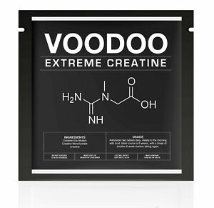 VOODOO™ THE STRONGEST LEGAL CREATINE FOR EXTREME MUSCLE-MONOHYDRATE, ETHYL ESTER