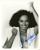 DIANA ROSS SIGNED AUTOGRAPHED 8x10 PHOTO THE SUPREMES LIVING LEGEND BECKETT BAS