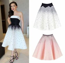 Regular Polka Dot Skirts for Women