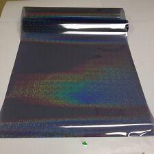 "SOLAR NON REFLECTIVE GLITTER IRIDESCENT WINDOW TINT FILM 20"" X 10 FT F-101D"