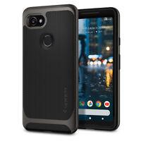 Spigen®Google Pixel 2 XL [Neo Hybrid] Shockproof Hard Bumper Case