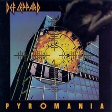 Pyromania by Def Leppard (Cassette, Jul-1987, Mercury)