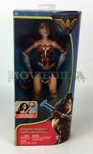 "WONDER WOMAN Movie Battle Ready 12"" figure doll, Mattel, mint boxed (Gal Gadot)"
