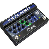 Radial Engineering Key-Largo Keyboard Mixer Performance Pedal DI Box *PERFECT*