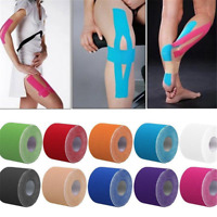 5m Roll Kinesiology Tape Athletic Muscle Care Support Sport Physio Strapping TR