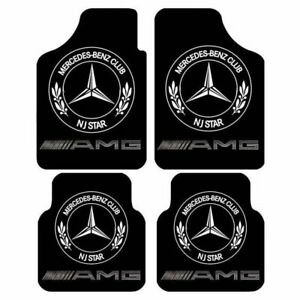 For Mercedes-Benz 1900-2022 Front & Rear Liner Car Floor Mats carpet
