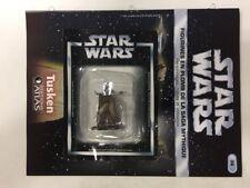 star wars figurine en plomb tusken n36/60 neuve blister fascicule atlas