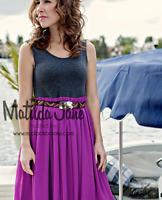 WOMENS MATILDA Jane Good Hart Park Day Tank Dress Size M Medium EUC