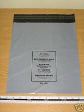 5 x Medium Large Mail Bags Parcel Sacks Grey approx 300mm x 350mm 12 x 14 A05