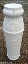 1/2 pedestal plastic mold birdbath stand sundial holder mould