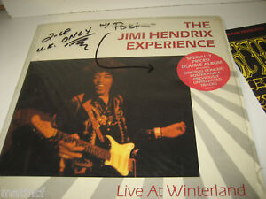 The Jimi Hendrix Experience LP w/Poster -2 LP UK Only