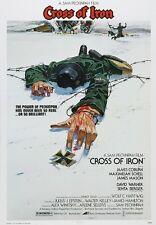 Cross Of Iron movie poster print - Sam Peckinpah, James Coburn