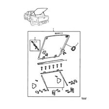 NEW GENUINE HOLDEN RODEO/COLORADO CREW CAB HARD COVER KIT PART 95710416