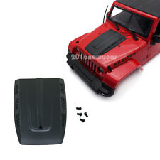Motorhaube Engine Hood Cover für 1/10 RC Axial SCX10 Jeep Wrangler Crawler Body