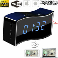 HD 1080P WI-FI Spy DVR invisible cámara IP Mini Reloj Grabadora De Ideo Niñera c