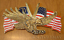 "Fits any flat surface 46-1002 2 3//4/"" GOLD EMBLEM HONDA GOLDWING Eagle Disc"