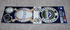 COLORADO ROCKIES MLB BASEBALL SPORTS PRISMATIC DECALS PACK OF 6