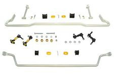 Whiteline 26mm Front & 22mm Rear Sway Bar WITH Endlinks For 2015+ Subaru Wrx