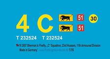 """Peddinghaus 3057 1/16 Sherman Ic Lucciola,""""C"""" Squadrone,23rd Hussars,11th Armou"""