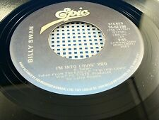 BILLY SWAN - I'm Into Lovin' You / Not Far From Forty - NEAR MINT 1981 Canada 45