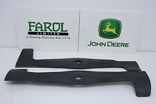Genuine John Deere Blades AM131560 Deck Ride-on Mower Set Of 2 LTR180