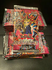 Konami YU-GI-OH sealed first 1st edition MAGICIAN'S FORCE booster pack UNOPENED!