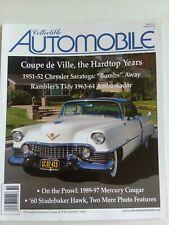 Collectible Automobile 1951-52 Chrysler, '63-64 Ambassador, '89-97 Mercury