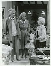 BEA ARTHUR BETTY WHITE ESTELLE GETTY THE GOLDEN GIRLS ORIGINAL '87 NBC TV PHOTO