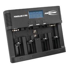 ANSMANN Akku-Ladegerät für 4x AA/AAA/C/D + 1x 9V-Block NiMH mit Entladefunktion