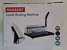 Makeasy Comb Binding Machine Sku 15