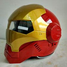 MASEI IRONMAN Iron Man helmet motorcycle helmet half helmet open face helmet cas