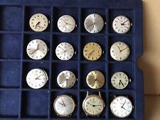 15 Vintage men's Watch movements mechanical