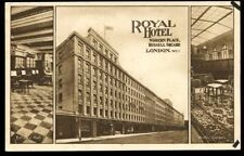 London Hotel Advertising Postcards